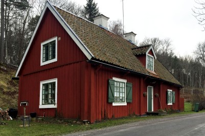 Traditional Swedish country cottage