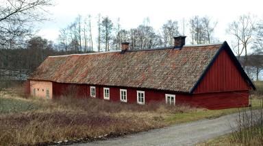 A barn near the military school I liked.