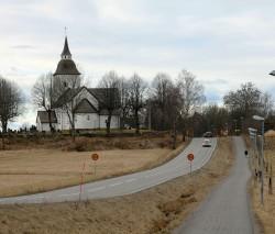 A surprise church!  Ytterenhörna Church