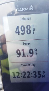 Not even the hottest. Hit almost 94 F ten minutes later.