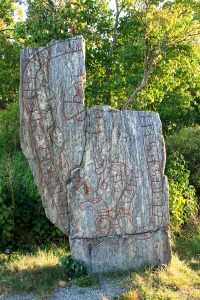 Södermanland's Runestone #262 - Broken, but enduring.