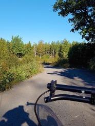 Not bad as gravel roads go...