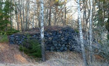 Odd rocky ramp